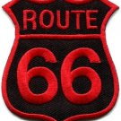 Route 66 retro muscle cars 60s americana USA applique iron-on patch new S-270