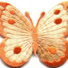 Butterfly insect boho hippie retro love peace applique iron-on patch new S-514