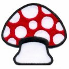 Mushroom boho 70s hippie retro love peace weed pot applique iron-on patch S-60