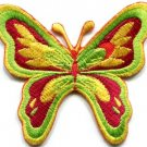 Butterfly insect boho hippie retro love sew sewing applique iron-on patch S-180