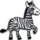 Zebra african equid wild horse safari wildlife applique iron-on patch new S-669