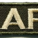 Army military insignia rank war biker retro applique iron-on patch new S-634