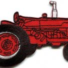 Tractor crawler plow farm truck retro applique iron-on patch new S-677 FREE WORLDWIDE DELIVERY!