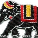 Thai war elephant Thailand elephantry wildlife applique iron-on patch new S-577