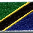 Flag of Tanzania ensign applique iron-on patch Medium new S-1143 FREE SHIPPING WORLDWIDE!