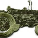 Tractor crawler plow farm truck retro applique iron-on patch new S-1131 WE SHIP ANYWHERE FOR FREE!
