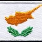 Flag of Cyprus Cypriot applique iron-on patch Medium new S-1147 WORLDWIDE DELIVERY IS FREE!