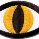 Cat's eye tattoo wicca occult retro applique iron-on patch S-1127 WE SHIP ANYWHERE FOR FREE!