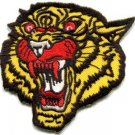 Tiger cat jaguar lion wildlife embroidered applique iron-on patch S-1123 WE SHIP ANYWHERE FOR FREE!