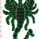 Scorpion biker tattoo Muay Thai applique iron-on patch BIG XL 7.63 x 11 in S-234 WE SHIP WORLDWIDE!