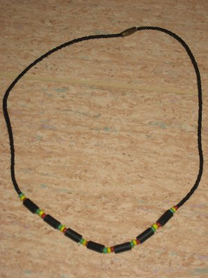 beed colourful neacklace