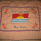 Handmade design pillow case