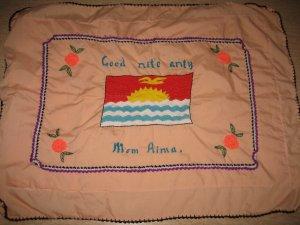 Handmade design pillow case
