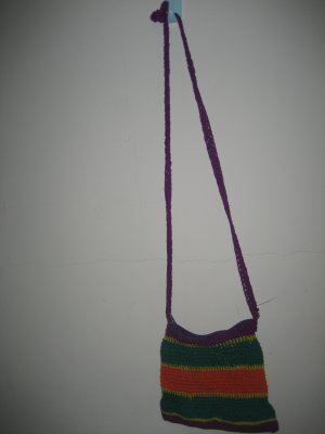 A colourful bag
