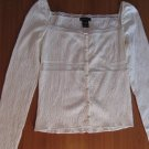 MODA International White Blouse