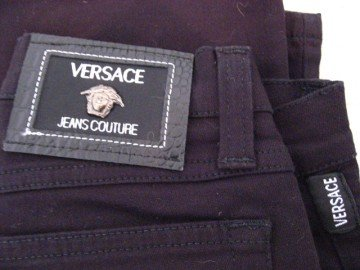 Gently Used Black Versace Jeans