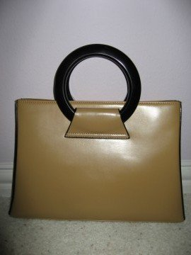 Brown Handbag by VANI