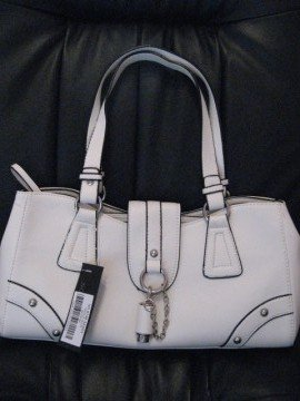 White Handbag by VANI