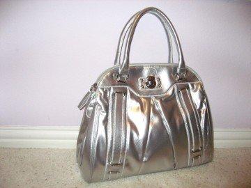 Silver Handbag by VANI