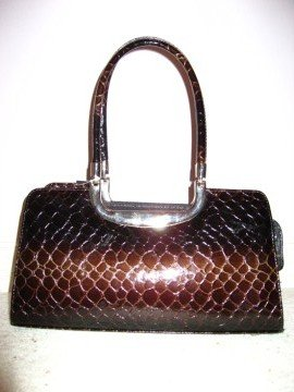 Coffee Brown Handbag by VANI