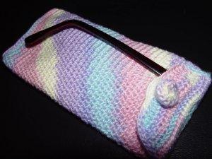 Rainbow Eyeglass Case