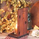Votive Candle Holder-Outhouse