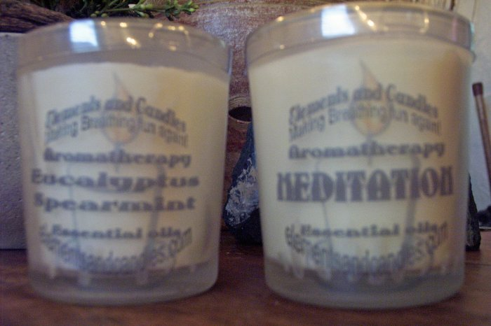 Aromatherapy Relaxation Candles (Set of 2)