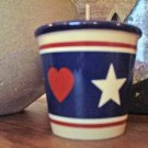 Votive Candle Holder-Classic Americana