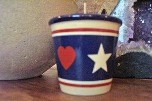 Votive Candle Holder-Classic Americana