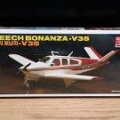 Minicraft Academy Beech Bonanza V35 Airplane Model Kit 1:48