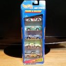 Hot Wheels Gift Pack Figure 8 Racers Set of 5