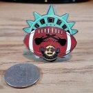 Hard Rock Cafe New York Football Kickoff 2012 Limited Edition Pin