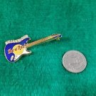 Hard Rock Cafe Hollywood Blue Fender Stratocaster Guitar Pin
