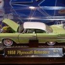 M2 Machines 1958 Plymouth Belvedere Auto-Thentics 1:64 Diecast R26