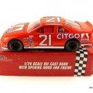 Nascar Citgo Ford Thunderbird Race Car Bank Diecast