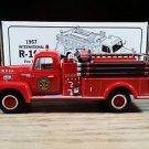 1957 International R-190 Fire Truck Marx Toys 1:34 Scale Diecast First Gear