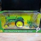 Ertl Precision Key Series #4 John Deere 420 Tractor with KBL Disc 1:16
