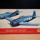 Lindberg Grumman F6F-5 Hellcat Airplane Model Kit 1:72