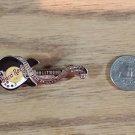 Hard Rock Cafe Hollywood Black Rickenbacker 340 John Lennon Guitar Pin