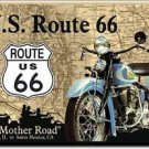 Route 66 The Mother Road Refrigerator Ice Box Magnet
