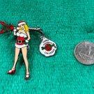 Hard Rock Cafe Las Vegas Santa Helper Girl with Guitar and dangling bag Pin