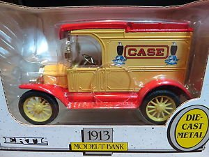 1913 Ford Model T Bank Case Ertl 1:25