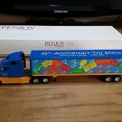 Penjoy Freightliner with Van Trailer 25th Anniversary Toy Show 1:64