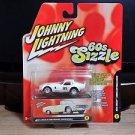 Johnny Lightning 60's Sizzle 1965 Shelby Cobra Daytona Coupe Error Package