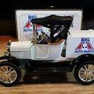 Ertl 1918 Ford Model T Runabout Bank Big A Auto Parts 1:25