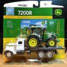 Ertl Peterbilt 367 with John Deere 7200R Tractor 1:64 Diecast
