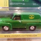 1955 Ford F-100 Panel Delivery John Deere Johnny Lightning Limited Edition 1:64