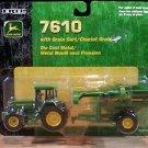 John Deere 7610 Tractor with 500 Grain Cart Ertl Diecast 1:64