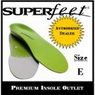 Superfeet Green Insole Size E