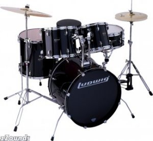Ludwig LC125 Accent 5-Piece CS Power Series Drum Kit